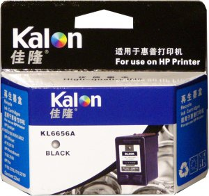 1 Pack of HP 56 (C6656AN) Black Compatible Inkjet Cartridge