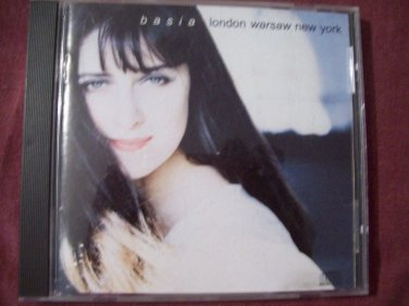 LONDON WARSAW NEW YORK by BASIA 1989 Epic Records