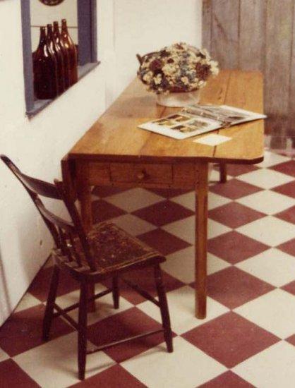 Butternut Drop Leaf Table