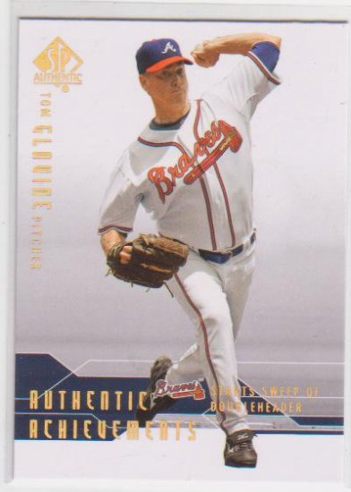 TOM GLAVINE 2008 SP AUTHENTIC AUTHENTIC ACHIEVEMENTS #AA-5