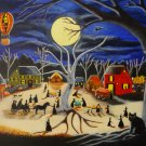 Halloween Art Print Hauntoberfest at Brewside Village