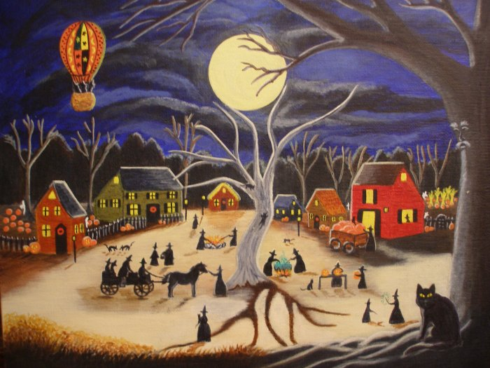 Art Hauntoberfest at Brewside Village