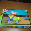 Can't Catch Me Kid's 24 Peice Puzzzle Mouse