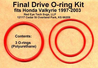 Final Drive O-rings for Valkyrie, Polyurethane, GL1500C GL1500CD GL1500CT GL1500CF