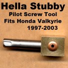 Hella Stubby Pilot Screw Tool ON-BIKE ADJUST and BENCH ADJUST Valkyrie GL1500C
