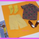 Vintage BarbieDoll Ken Sport Shorts Set #783 Tagged