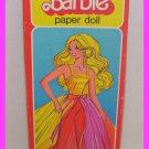 1979 Barbie Doll Whitman Fashion Photo Paperdoll Set EC