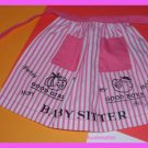Vintage Barbie Doll Barbie Babysits #953 Tagged Apron