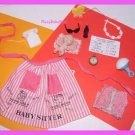 Vintage Barbie Doll Barbie Babysits #953 Apron & Access