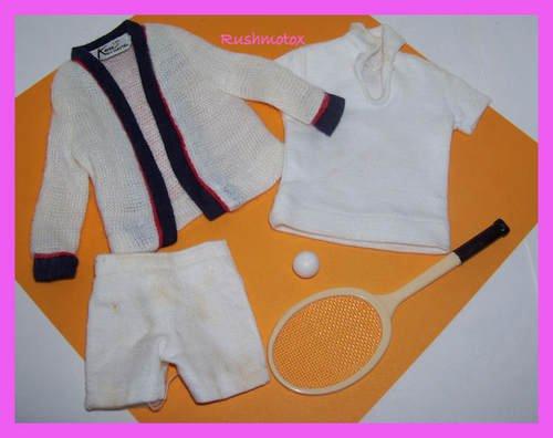 Vintage Ken Doll Time for Tennis #790 Clothing Set