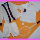Vintage Ken Doll Time for Tennis #790 Clothing Set