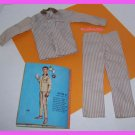 Vintage Ken Barbie Doll Sleeper Set Pajamas #781