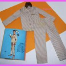 Vintage Ken Barbie Doll Sleeper Set #781 Pajamas LotB