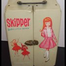 Vintage Skipper Barbie Doll White Carrying Case 1964
