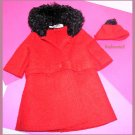 Vintage Barbie Red Its Cold Outside Tagged Complete 081