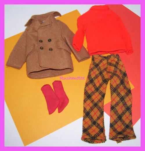 Vintage Ken Doll Play It Cool #1433 Clothing Outfit VGC