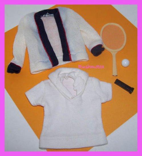 Vintage Ken Barbie Doll Time 4 Tennis #790 Clothes Set