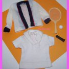 Vintage Ken Barbie Doll Time 4 Tennis #790 Clothes Set
