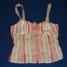 Womens Striped City DKNY Tank Top sz 4 Spring/Summer