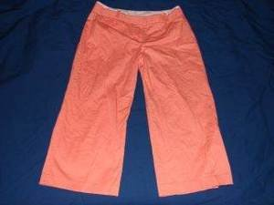Womens Express Correspondent Cropped Pants 6 Spring VGC