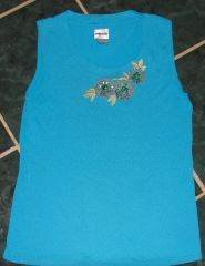 Womens Chicos Chico's Floral Tank sz 0 4/6 S XS Spring