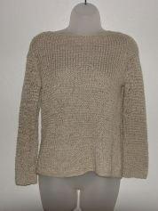 Womens Ann Taylor Loft Woven Khaki Shirt sz Medium