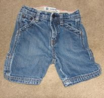 Boys GAP Carpenter Jean Shorts sz 2