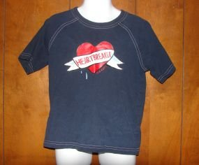 "Boys Old Navy ""Heartbreaker"" Shirt sz 4T VGC Valentines Day"