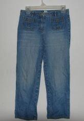 Womens Ann Taylor Loft Cropped Jeans sz 4