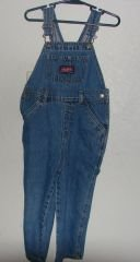 Boys/Toddlers Old Navy Denim Jean Overalls sz 3/3T VGC