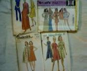 4 Vintage Sewing Patterns Size 14 Simplicity, McCall's and Butterwick