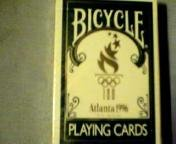 Unopened Playing Cards Atlanta 1996 Olympics