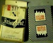 Deck of Casino Playing Cards New York New York