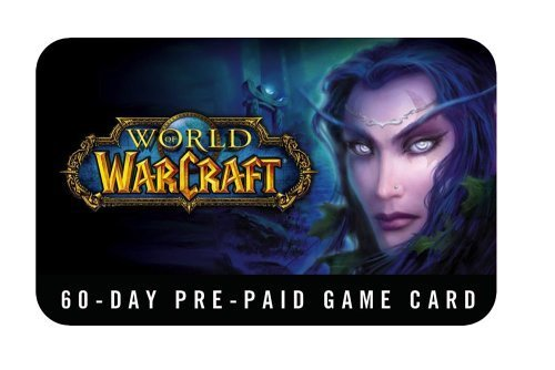 World of Warcraft Sixty Day Prepaid Game Time Card WoW 15-30 Minute Delivery