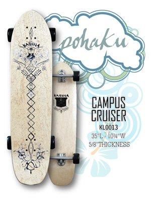 "Longboard - Ki'i Pohaku Classic Campus Cruiser 35"" Signature Series KL0013"