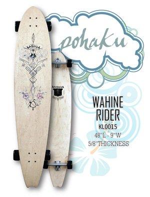 "Longboard - Ki'i Pohaku Classic Wahine Rider 48"" Signature Series KL0015"