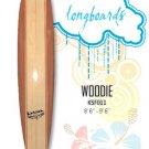Surfboard - Kahuna Woodie **NEW** (Longboard) KSF011