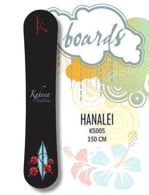 Snowboard - 150cm Hanalei by Kahuna Creations