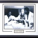 Muhammad Ali & Elvis Presley custom framed photograph