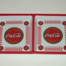 Coca-Cola Snack Tray 2 Sections Coke Kitchen Decor