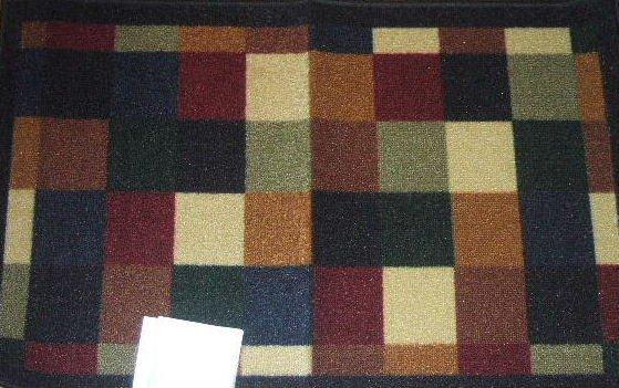 Color Blocks Rug Shaw Mat