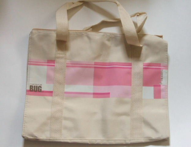 Fashion Bug Canvas Beach Tote