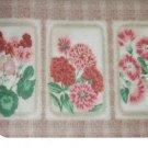 Pink Floral Rug Bath Mat