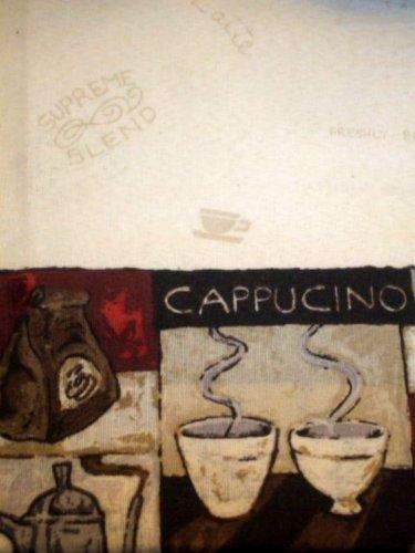 Coffee Theme Kitchen Curtains