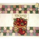 Basket of Apples Placemats Apple Kitchen Decor