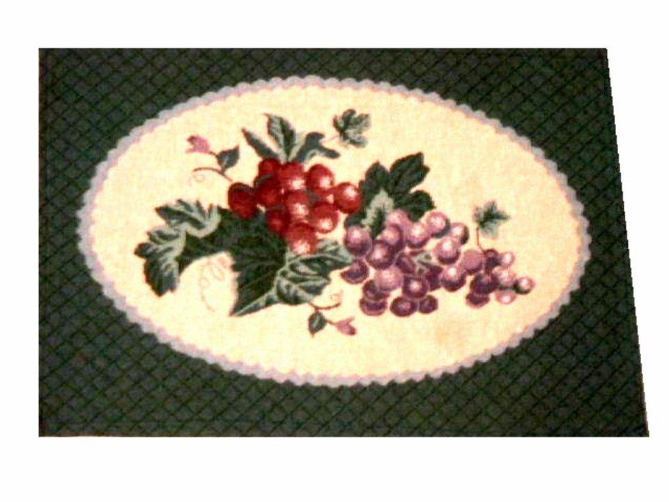 Grape Placemats Grapes Themed Kitchen Linens