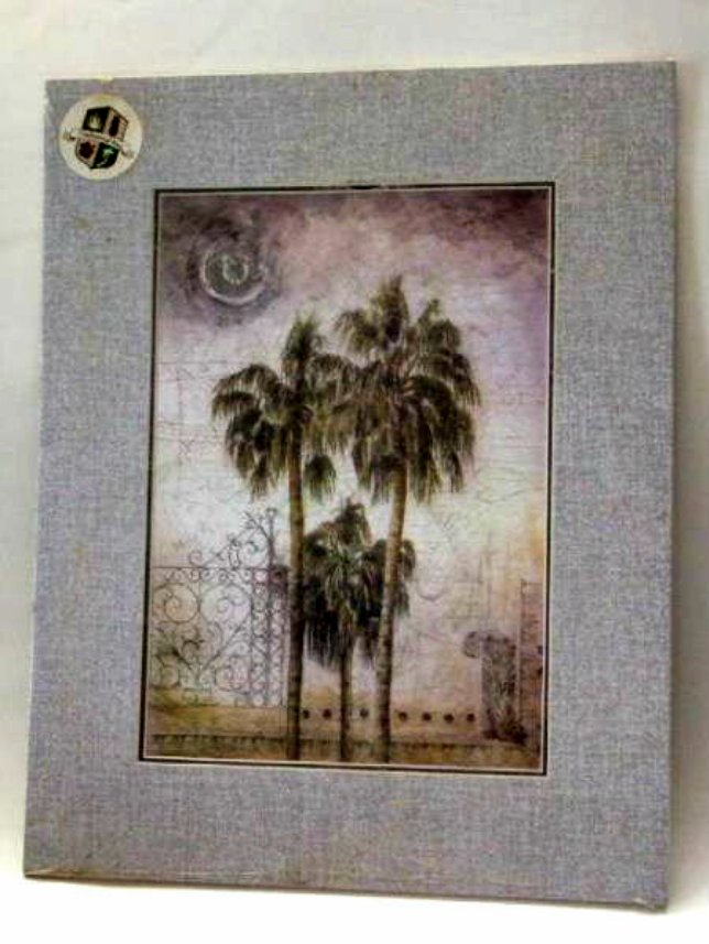 Tropical Palm Trees Print Wall Decor Picture