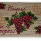 Grape Kitchen Rug Concorde Grapes Mat