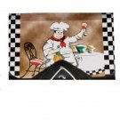 Fat French Chef Coupon Organizer Receipt Holder Photo Keeper