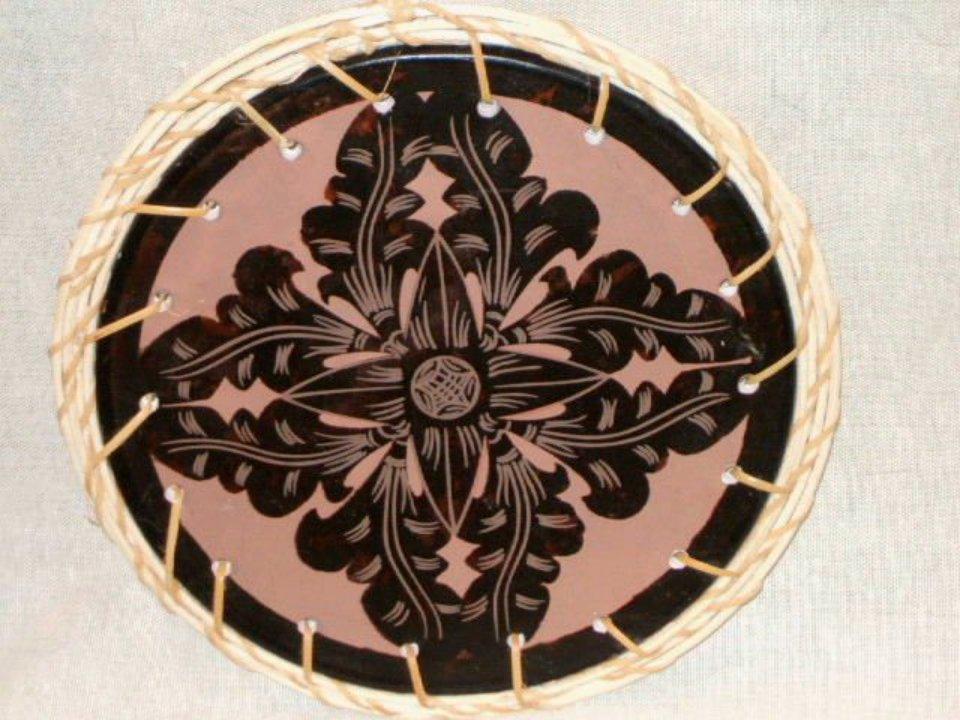 Medallion Ceramic Tile Trivet